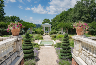 Blythewood Manor Italian Garden Bard College